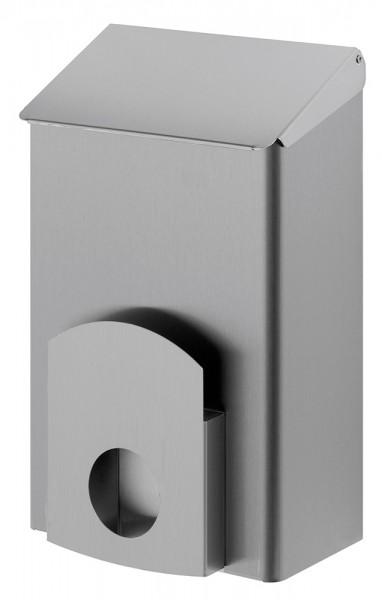 Hygieneabfallbehälter 7 Liter Edelstahl, Hygienemülleimer + Hygienebeutelhalter