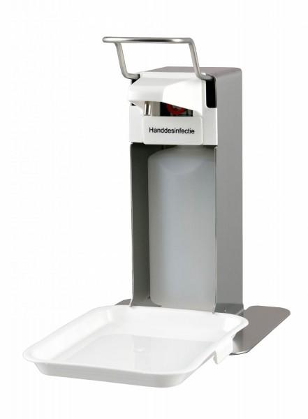Desinfektion/Seifenpender Tischmodell mit Tropfschale