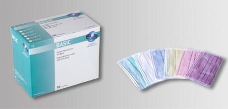OP-Mundschutz BASIC zum binden, VE=10x50 St.