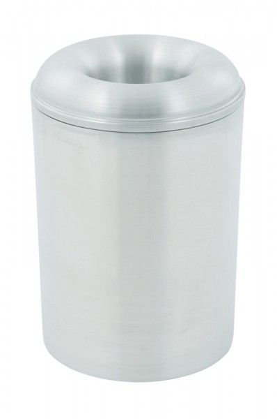 Feuerlöschender Papierkorb Aluminium