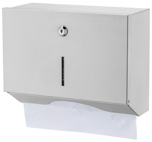 Handtuchspender klein Edelstahl - Basic line