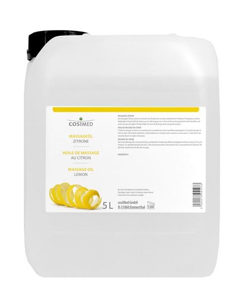 cosiMed Massageöl Zitrone 5 Liter