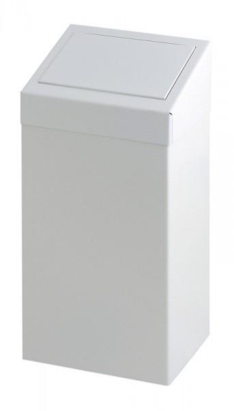 Abfallbehälter aus Metall mit Pushklappe 50 l