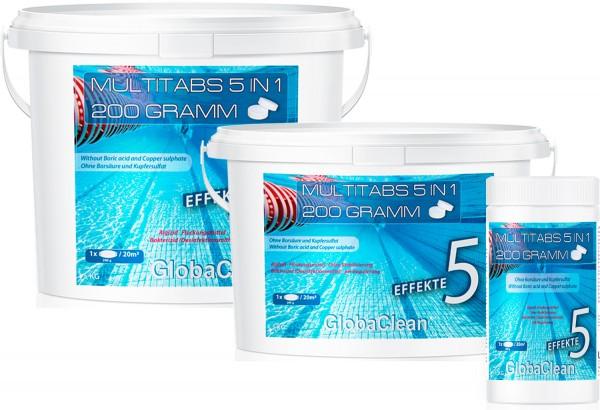Pool Chlor Multitabs 5in1 200g