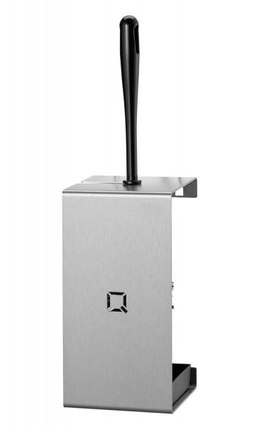 Q-Design Toiletten-Bürstenhalter Edelstahl matt
