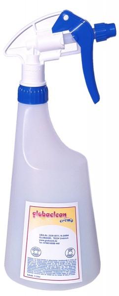 Leerflasche 1L + Schaumkopf