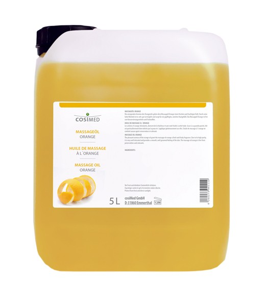 cosiMed Massageöl Orange 5 Liter