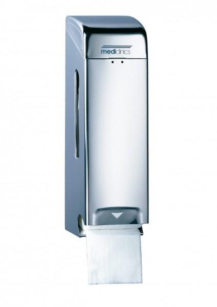 Toilettenpapierspender Edelstahl, 3 Rollen
