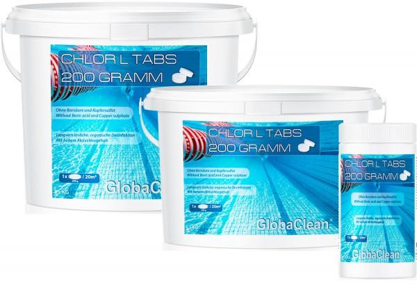 Pool Chlor L Tabs 200g