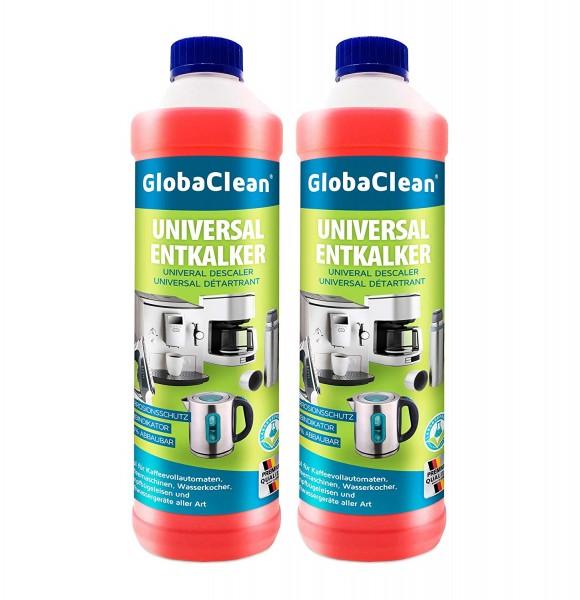 2 x 750 ml Entkalker für Kaffeevollautomaten - Flüssig-Entkalker für Kaffeemaschinen