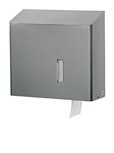 SanTRAL Großrollenspender WC Edelstahl