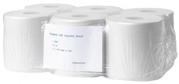 Handtuchrollen 300 m 1 lagig 20 cm recycling