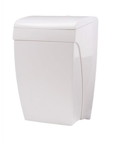 Abfallbehälter 8 l Knie-Bedienung Kunststoff weiß