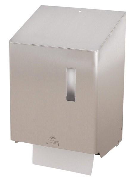 SanTRAL Handtuchrollenspender Sensor vollautomatisch Edelstahl
