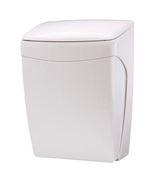 Abfallbehälter 20 l Knie-Bedienung Kunststoff weiß