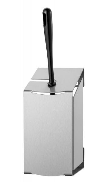 Toilettenbürste - Edelstahl gebürstet zur Wandmontage