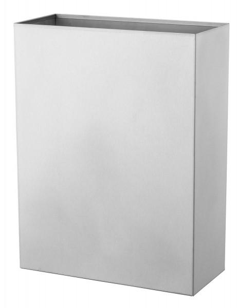 Abfallbehälter Edelstahl 25 Liter - Basic line