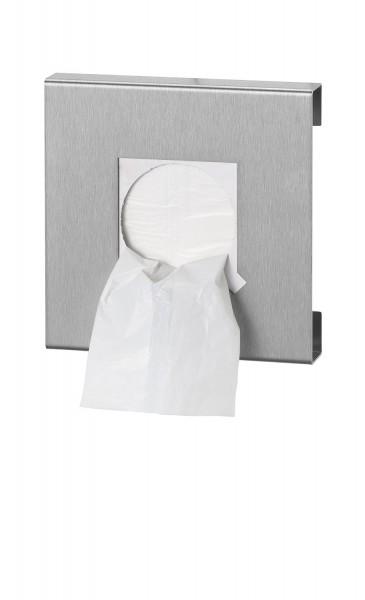 Q-Design Hygienebeutelspender Edelstahl matt