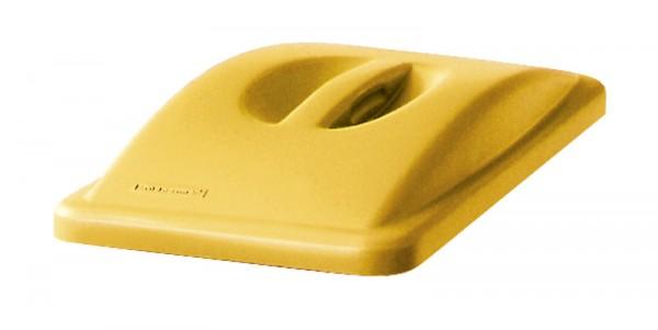 Slimmy-Deckel geschlossener Deckel - Gelb