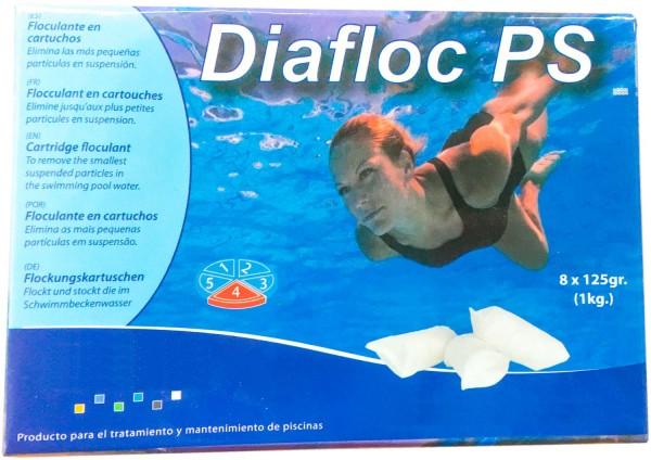 1 kg Flockkartusche für Pools